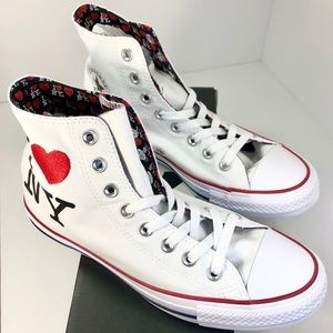 Converse Chucks I ❤ New York 161184F Men's 7 New